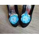 Clips pour chaussure Turquoise