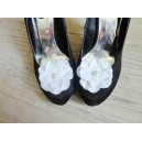 Clips pour chaussures Blanc